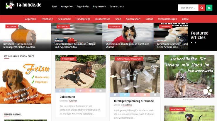 Hundeportal Projekt